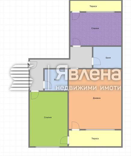 тристаен апартамент варна pl63cxh1