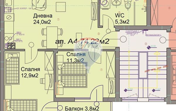 тристаен апартамент варна s8hu3aq6