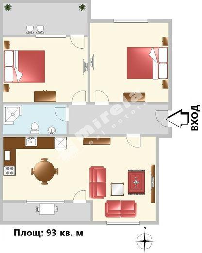 тристаен апартамент варна t17wfmln