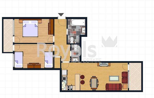 тристаен апартамент варна uh669ks6