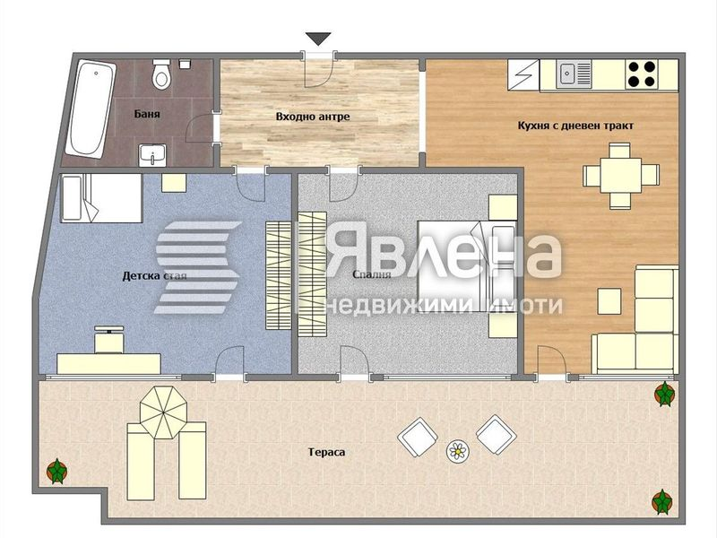 тристаен апартамент варна vmj5jabn