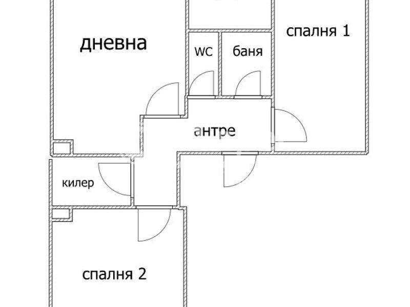 тристаен апартамент варна w12q945u