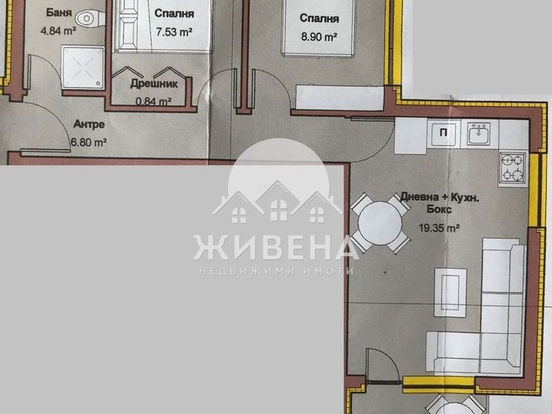 тристаен апартамент варна x29emrwm