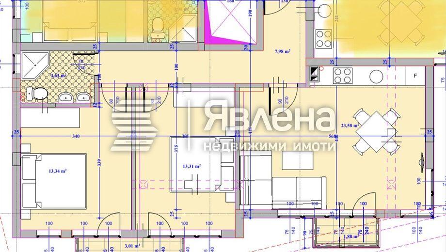 тристаен апартамент варна ymef5mxm