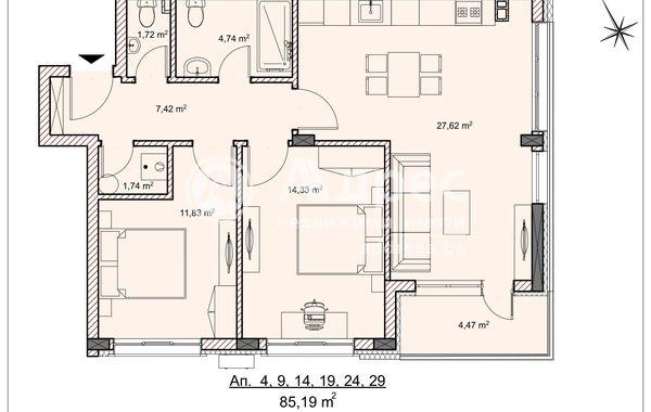 тристаен апартамент велико търново 29e1c1dw