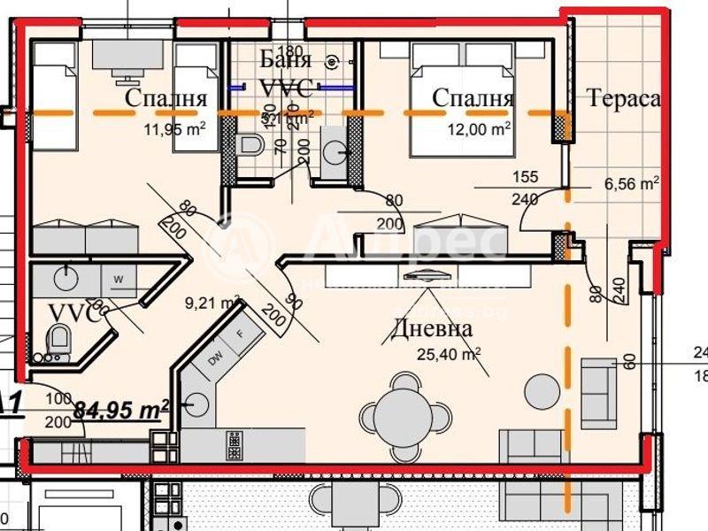 тристаен апартамент велико търново d7n6c8rg