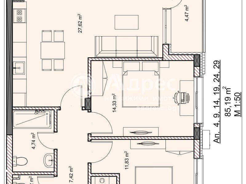 тристаен апартамент велико търново kunb5rlt