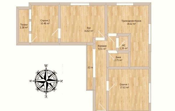 тристаен апартамент велико търново lmlfby8n