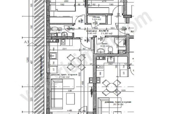 тристаен апартамент велико търново nmr9715k