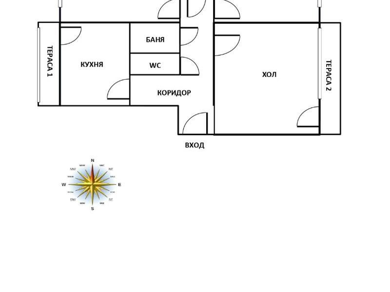 тристаен апартамент велико търново nngqb42r
