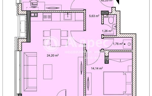 тристаен апартамент велико търново qfva374x