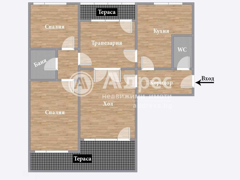 тристаен апартамент пазарджик dh4cpt32