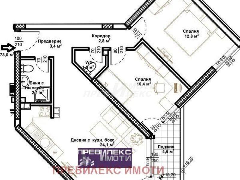 тристаен апартамент пловдив gp3ln328