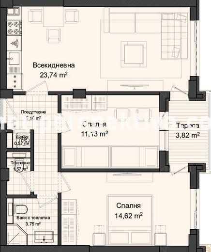 тристаен апартамент пловдив mbq18vqd
