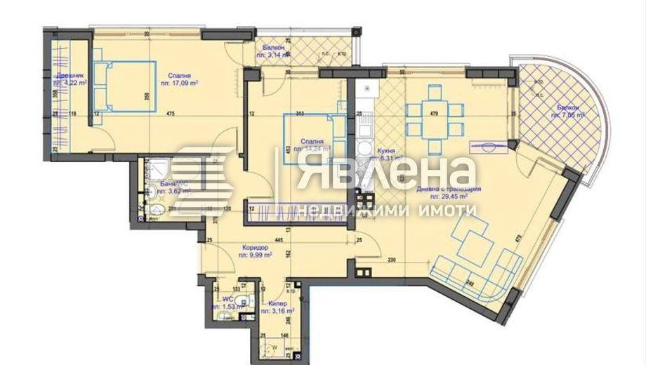 тристаен апартамент пловдив xg36y3ua