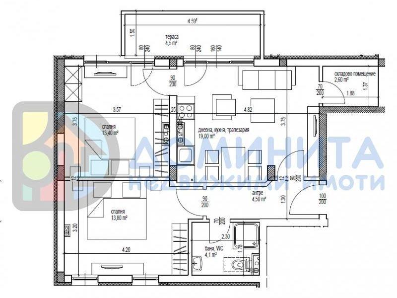 тристаен апартамент приморско ks9h8n9g