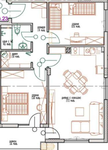 тристаен апартамент св св константин и елена sff43yet