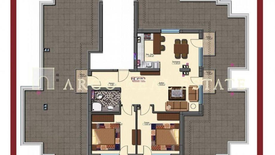 тристаен апартамент софия 14g6jlg1
