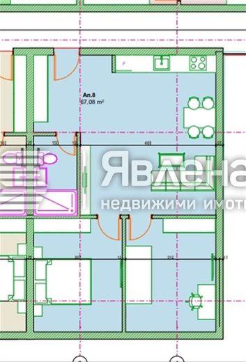 тристаен апартамент софия 1ehfv3n5