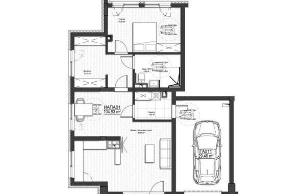 тристаен апартамент софия 1hh81tgd