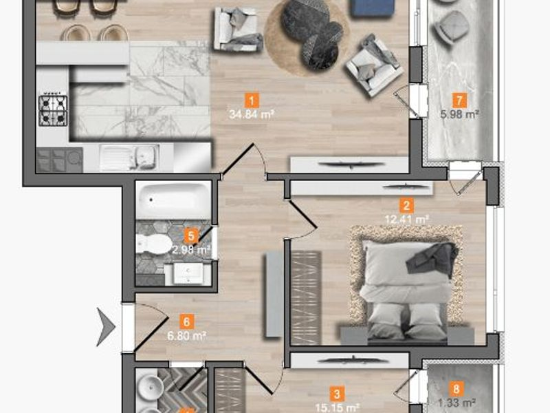 тристаен апартамент софия 1sktgkg5