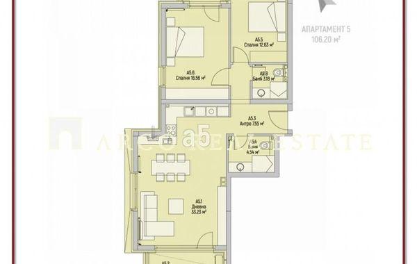 тристаен апартамент софия 21myf3ml