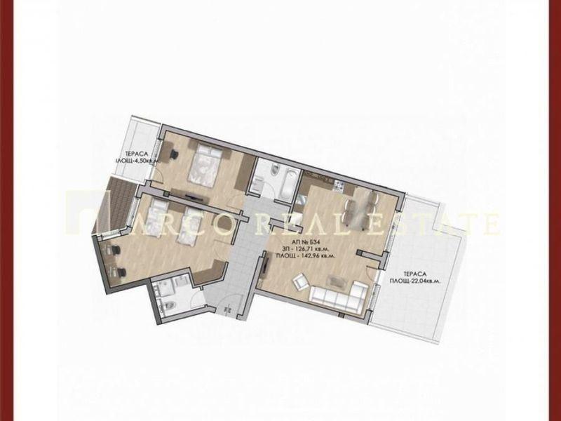 тристаен апартамент софия 2388w4k9