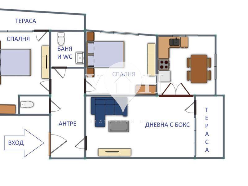 тристаен апартамент софия 3n5vcf3y
