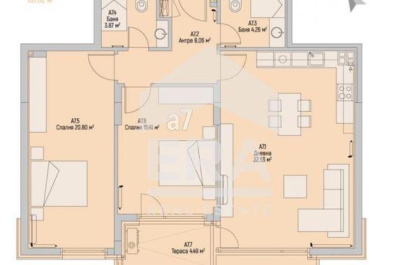 тристаен апартамент софия 3xsfjupa