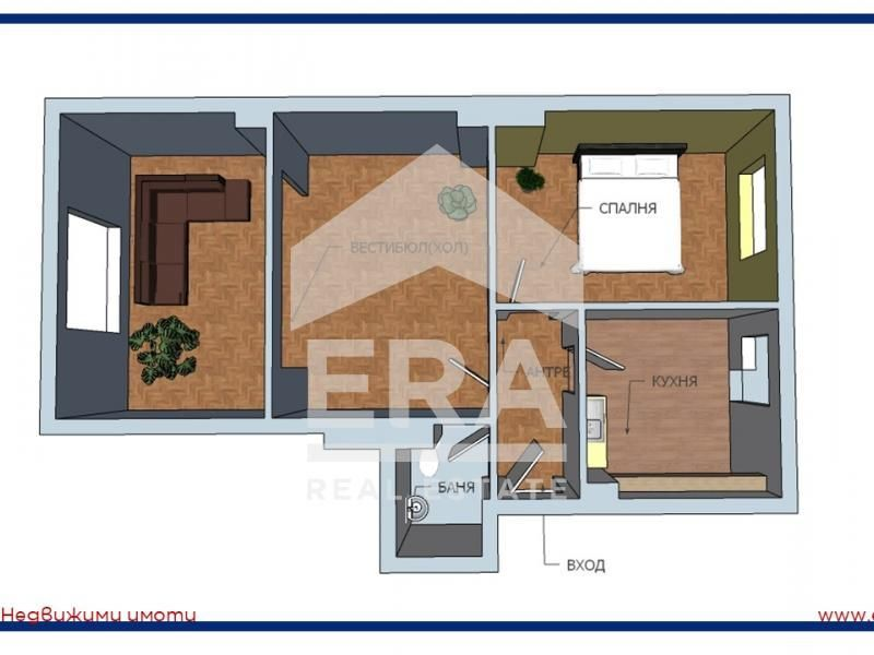 тристаен апартамент софия 493nux1w