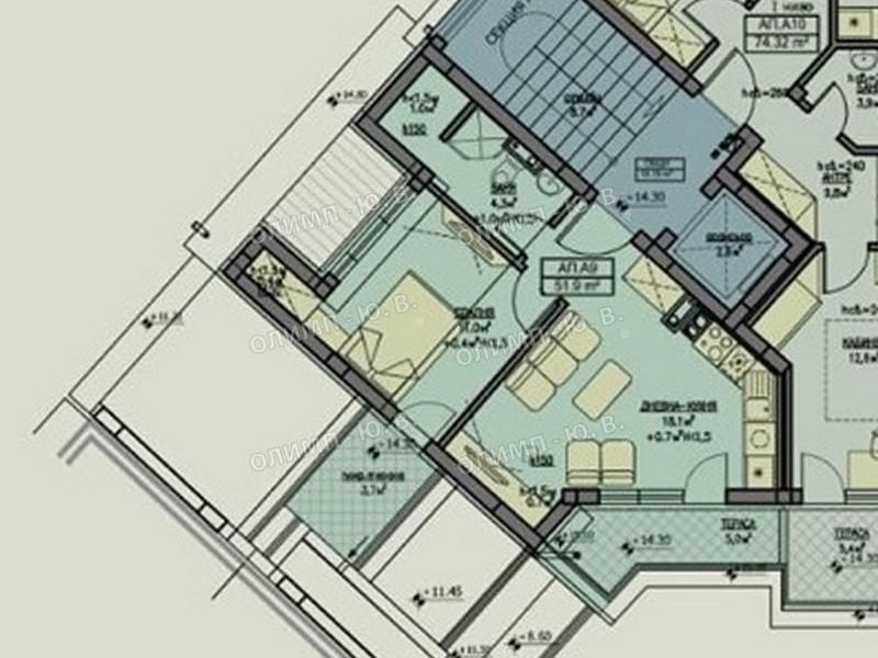 тристаен апартамент софия 49ak9a4d