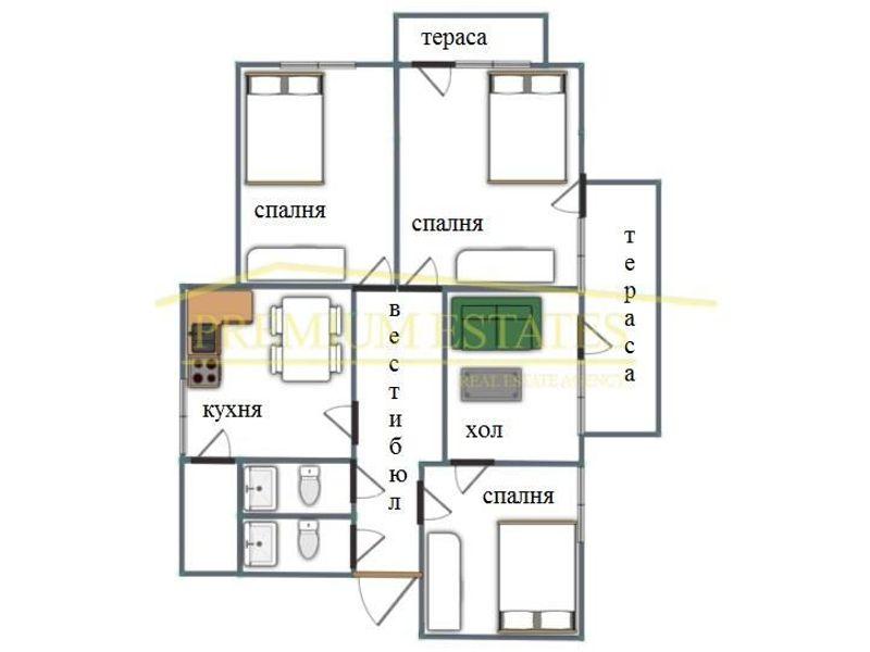 тристаен апартамент софия 4f9amk2p
