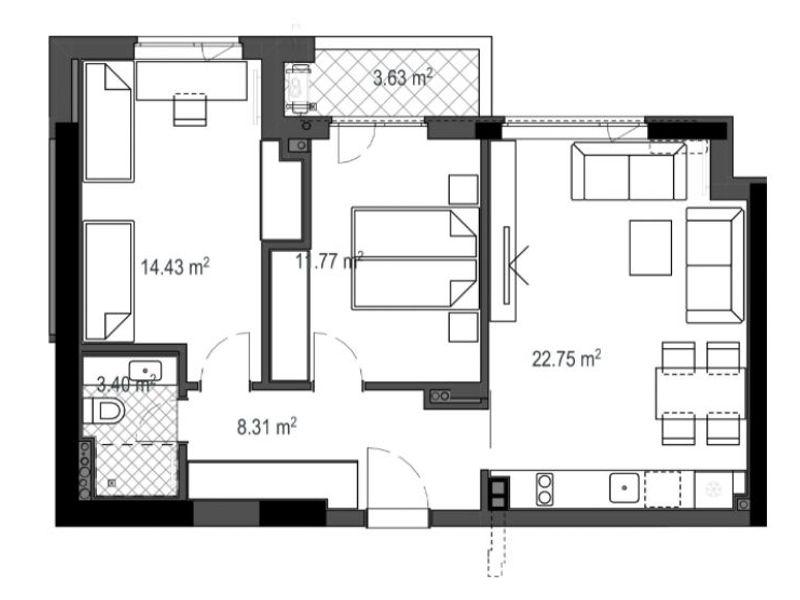 тристаен апартамент софия 4rd1rqpl