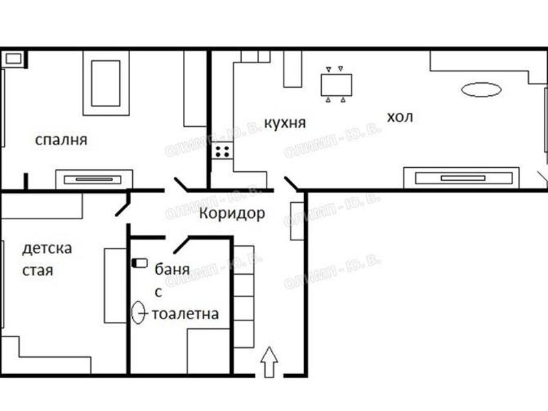 тристаен апартамент софия 58r6cnpj