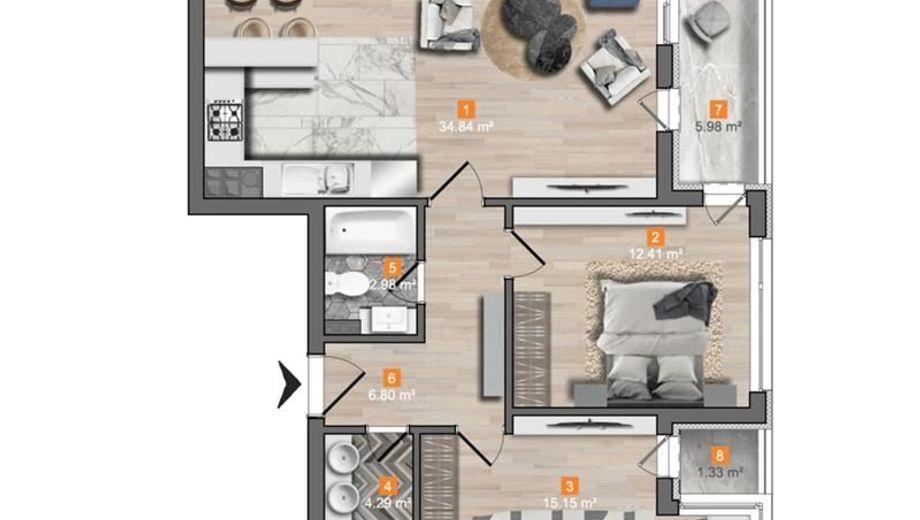 тристаен апартамент софия 5a8qkr7f