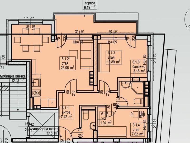 тристаен апартамент софия 64ujw2br