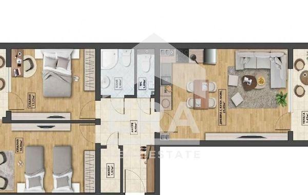 тристаен апартамент софия 71b9fbs9