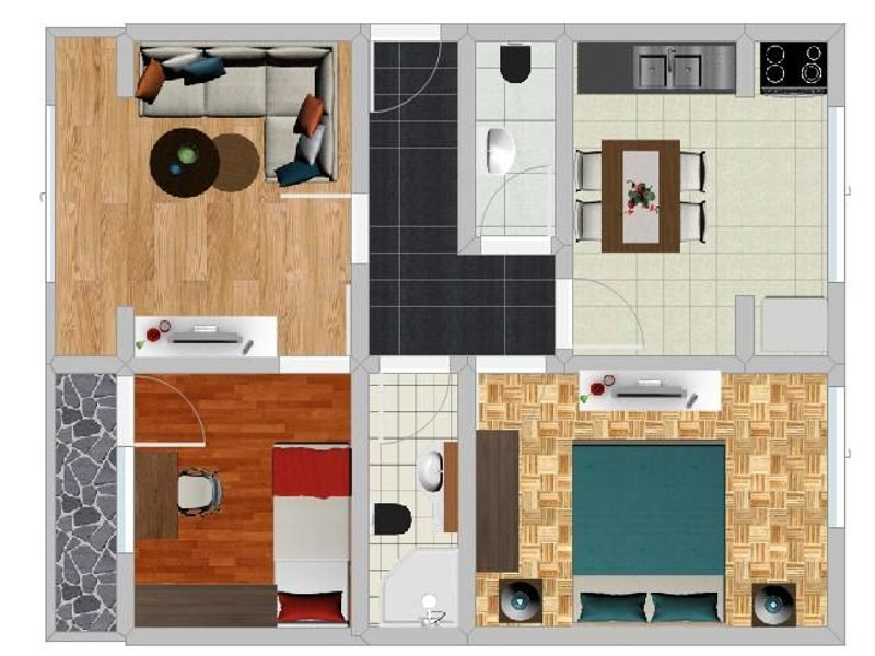 тристаен апартамент софия 79pfa32v