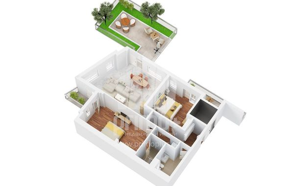 тристаен апартамент софия 79v3hcn1