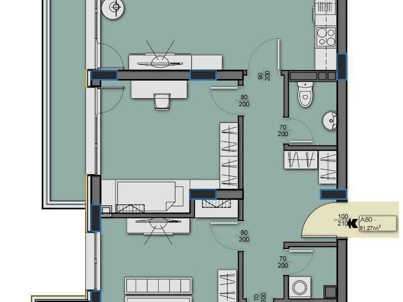 тристаен апартамент софия 7mdrup88