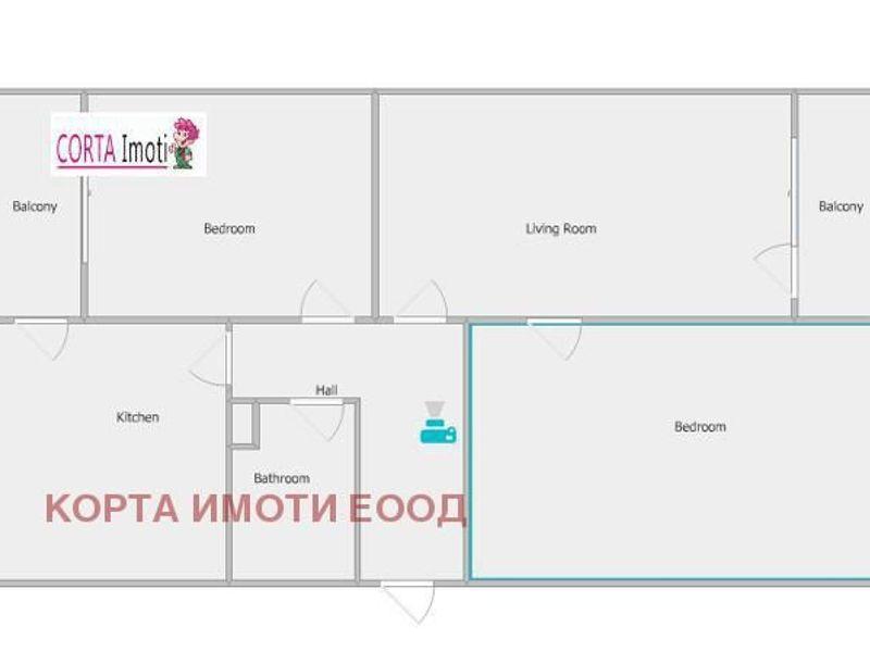 тристаен апартамент софия 7wckyt96