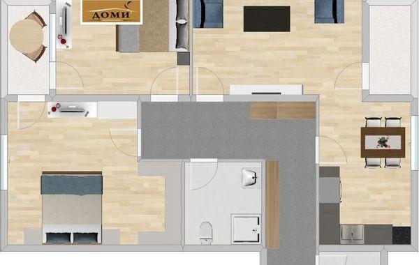 тристаен апартамент софия 883bct4w