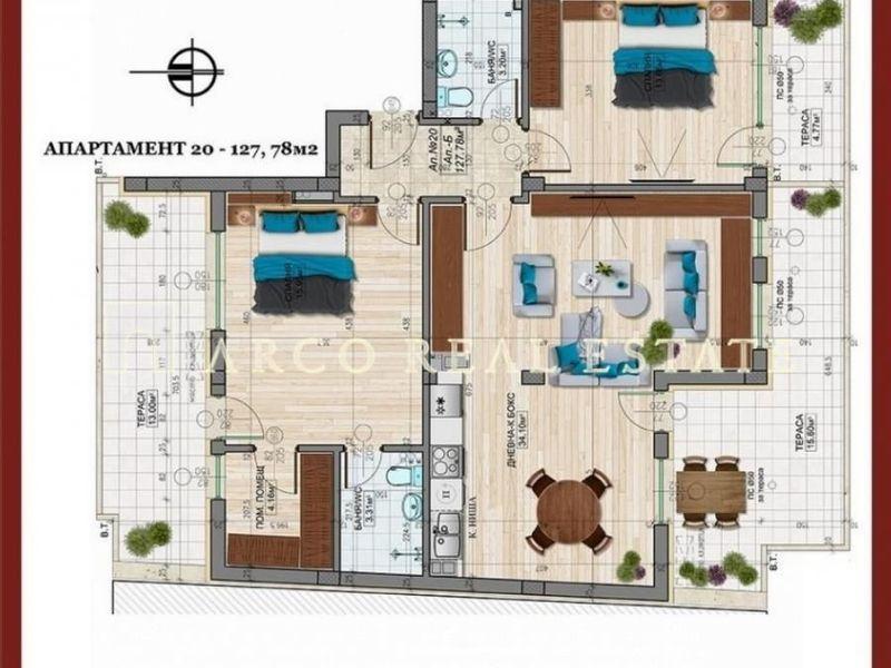 тристаен апартамент софия 8vut46pg