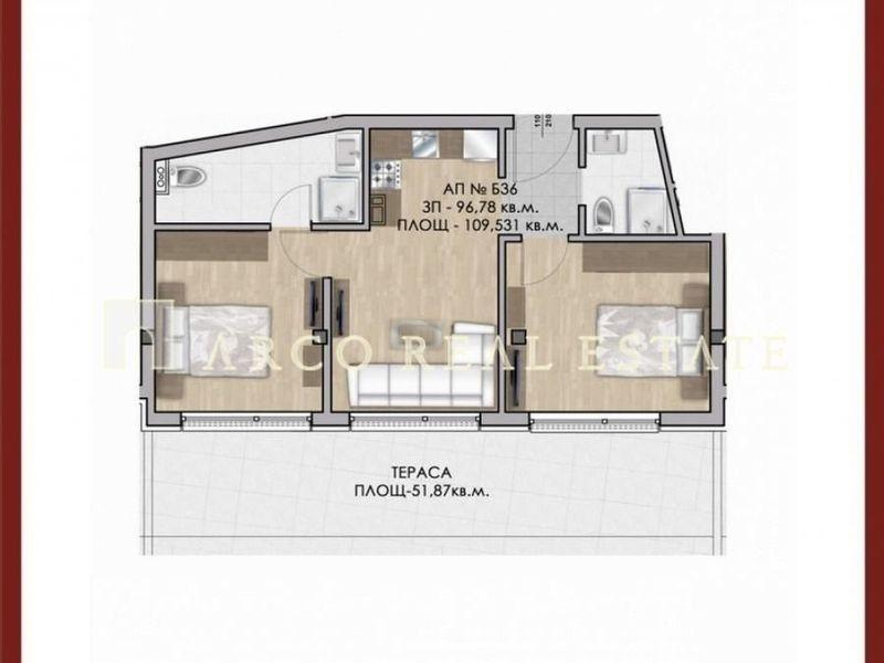 тристаен апартамент софия 8x42fndf