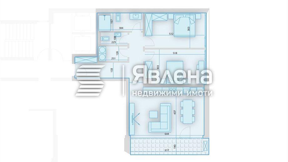 тристаен апартамент софия 97e2uldv