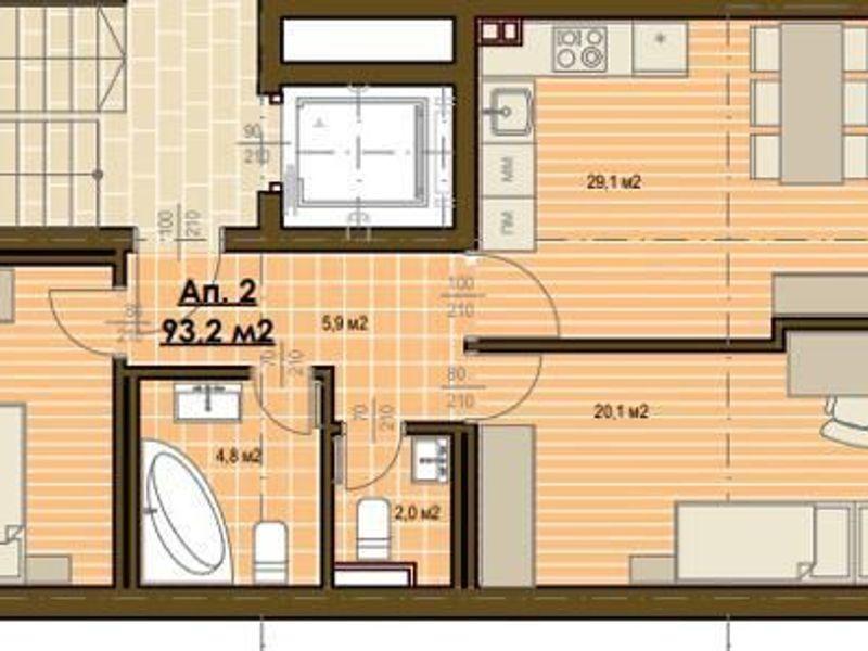 тристаен апартамент софия 9frm39qy