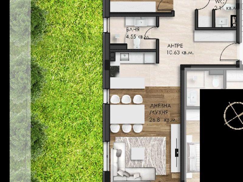 тристаен апартамент софия 9mvl4ksv