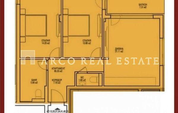 тристаен апартамент софия ab1m8h2p