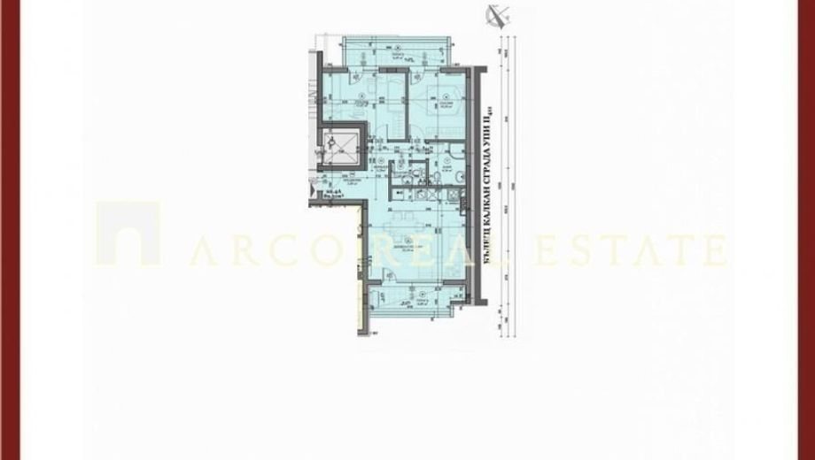 тристаен апартамент софия arg85ulb
