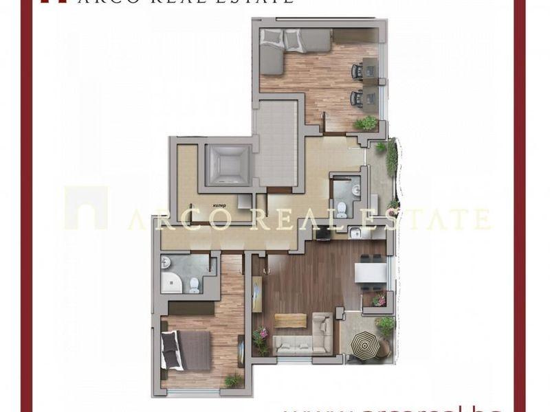 тристаен апартамент софия b35twevp